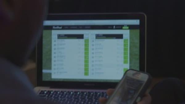 Insider trading hits fantasy sports