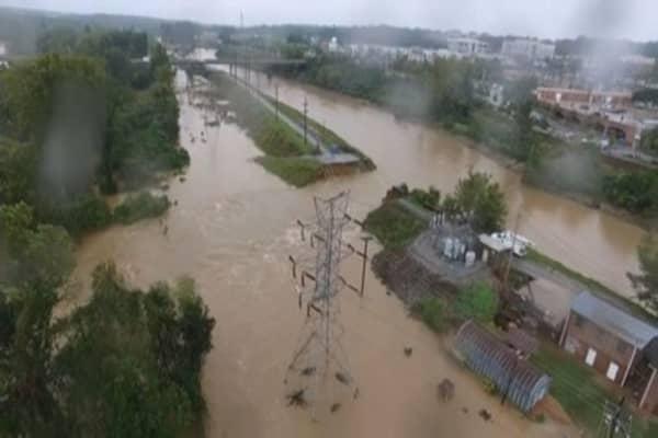 Historic flooding hits South Carolina