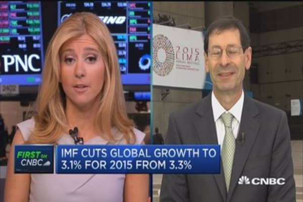 IMF cuts global growth to 3.1%