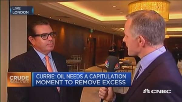 Oil needs a capitulation moment: Goldman Sachs