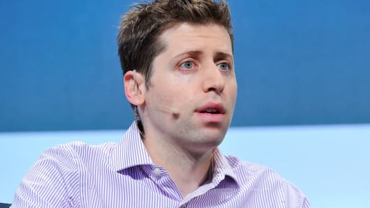 Sam Altman of Y Combinator, September 23, 2015 in San Francisco.
