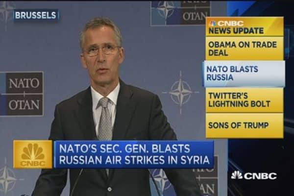 CNBC update: NATO blasts Russia