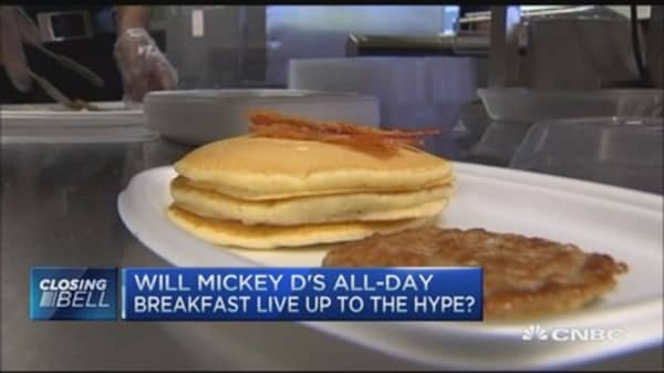 Is all-day breakfast enough to fix McDonald's?
