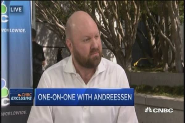 Drones are our future: Andreessen