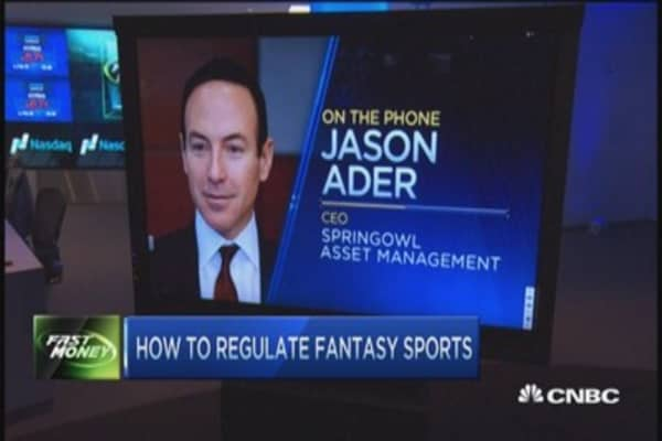 How to regulate fantasy sports