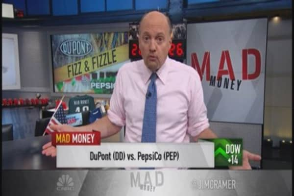 Cramer: Listen up DuPont! What Pepsi did righ
