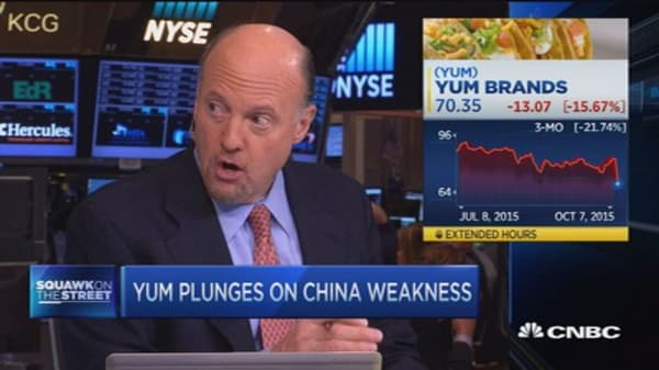 Yum Brands earnings 'inexplicable,' says Cramer