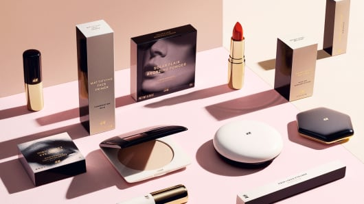 Just in time for the holidays, H&M has launched a new beauty line.