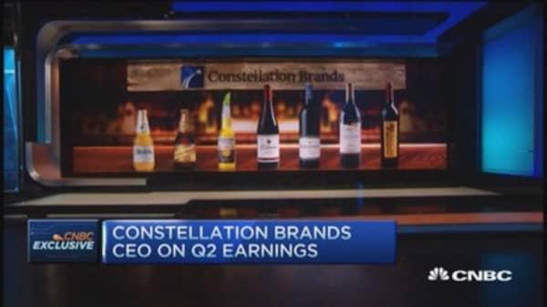 Constellation CEO talks growing beer sales