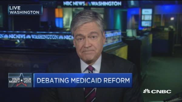 GOP debate: Medicaid