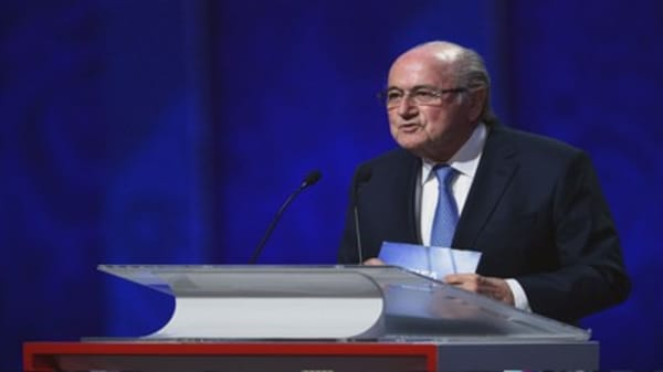 FIFA President Sepp Blatter forced to step down for 90 days
