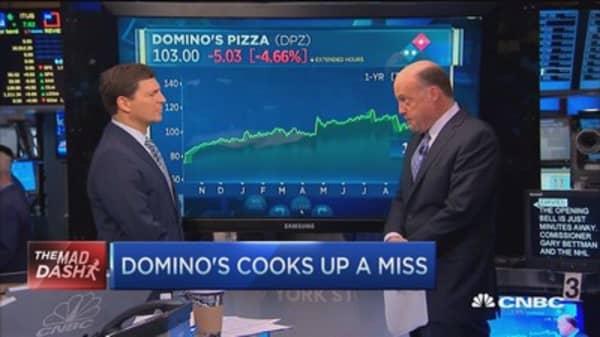 Cramer's Mad Dash: Domino's Pizza