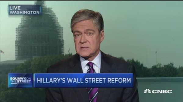 O'Malley: Clinton's Wall St. plan falls short
