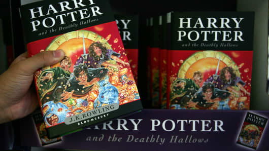 Harry Potter books are now going to be available on iBooks.