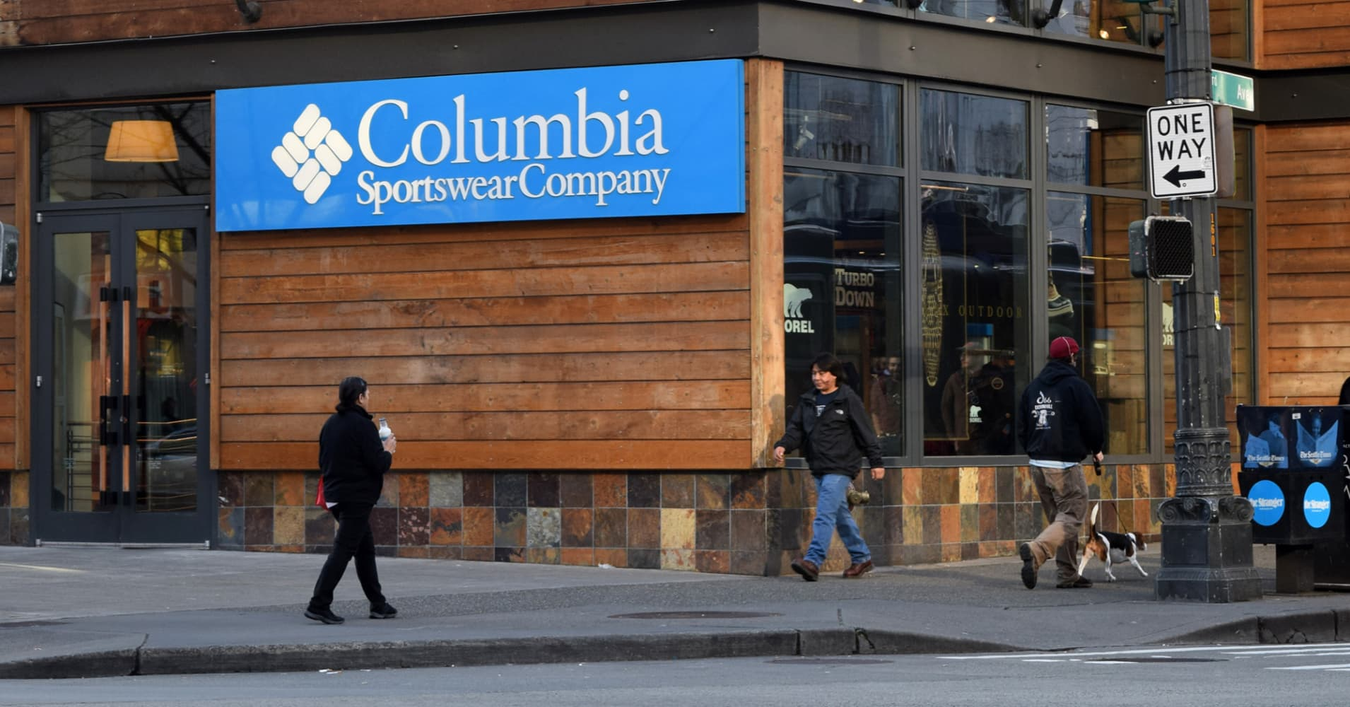 Columbia clothes store