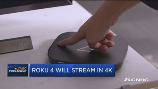 Roku's 'best streaming player ever': CEO