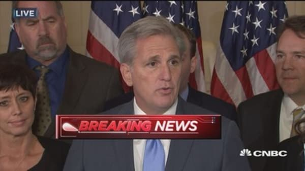 Kevin McCarthy: We need a new face to unite the House