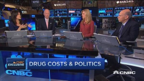 Drug costs need to be US priority: CEO