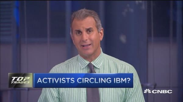 Activists circling IBM?