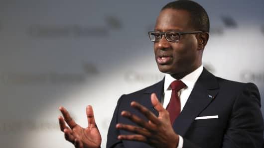 Tidjane Thiam, CEO of Credit Suisse.