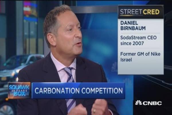 Fizz fight in America's kitchens: SODA CEO