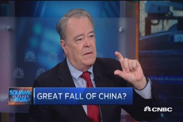 China worries putting Fed on hold?
