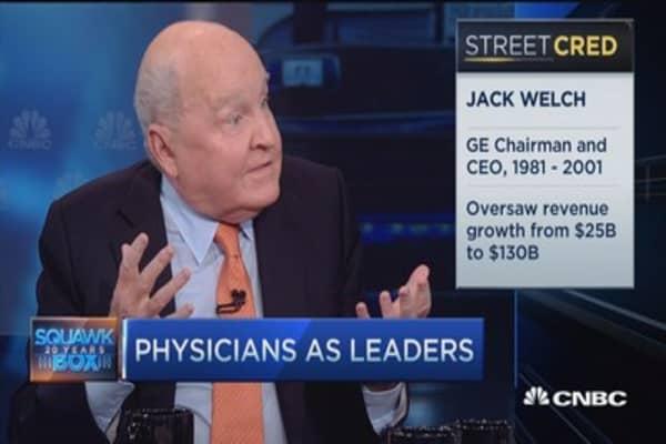 Jack Welch: Online medical management for doctors