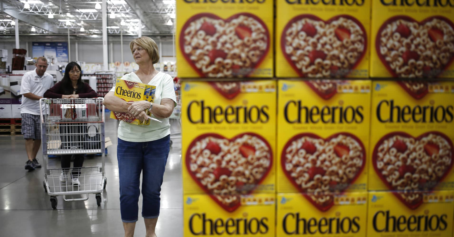 General Mills reports 7.7 percent rise in profit