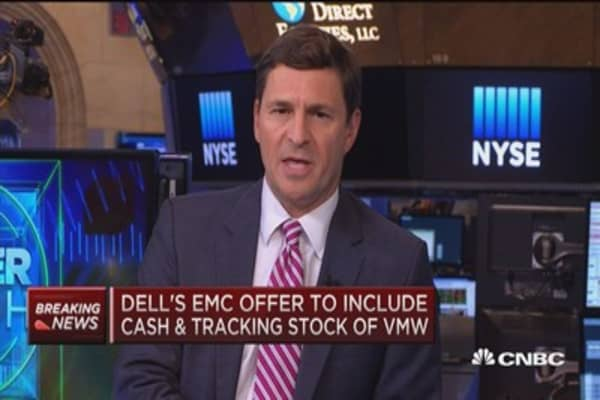 What to expect from Dell's EMC offer