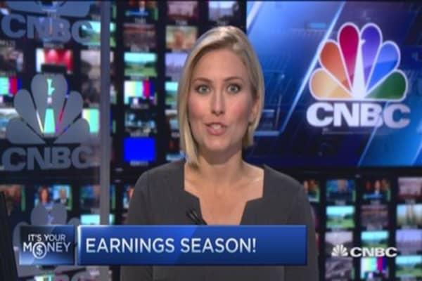 The week ahead: Earnings in earnest