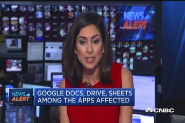Google Docs disrupted
