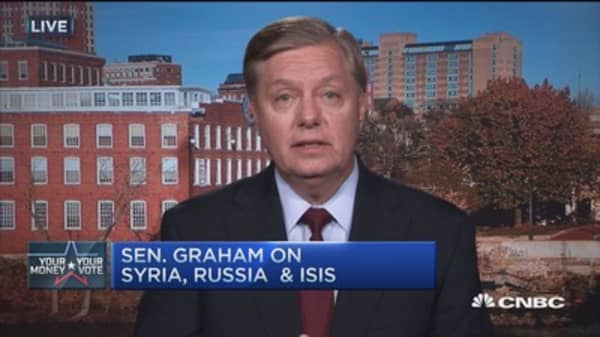 Sen. Graham: ISIS 'religious Nazis,' must be stopped