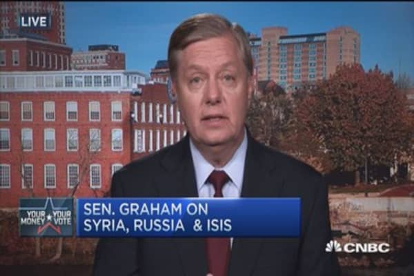 Sen. Graham: ISIS 'religious Nazis,' must be stopped