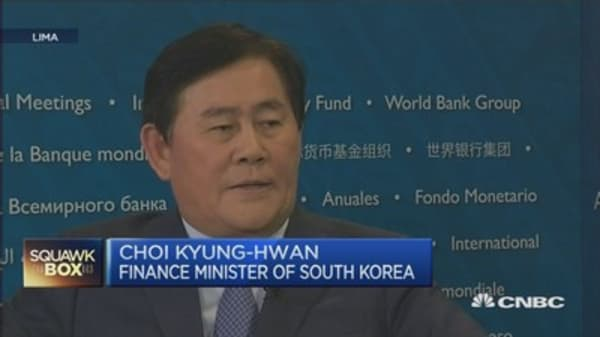 South Korea FinMin: We are different from other EMs