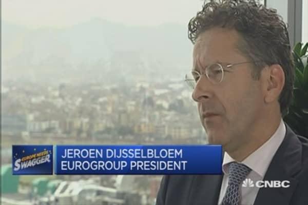 Need to work together on Syria: Dijsselbloem