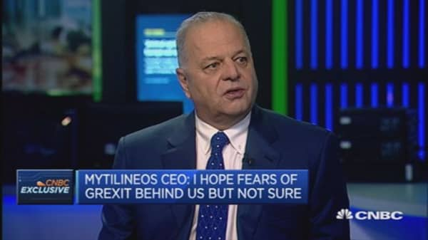 Grexit would be disastrous for Greece: CEO