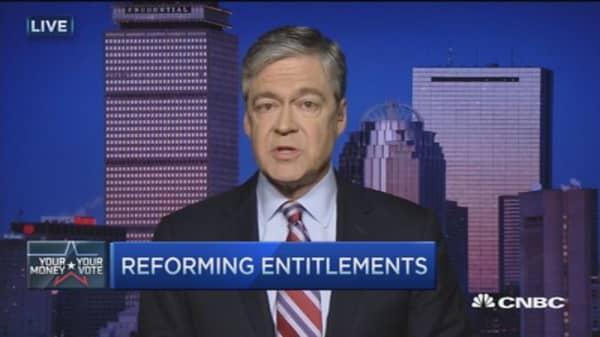 GOP debate: Entitlement reforms