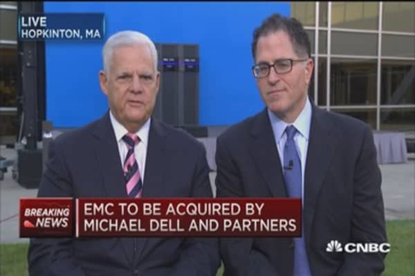 How Dell/EMC deal will work with VMW tracking stock