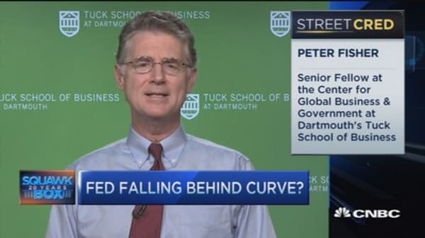 Fed 'painted in a corner': Peter Fisher
