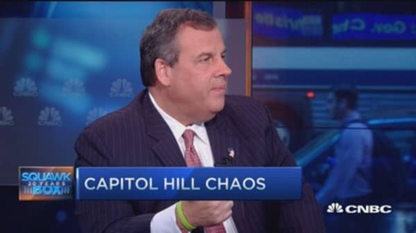 Gov. Christie:  US citizens don't care what Freedom Caucus thinks