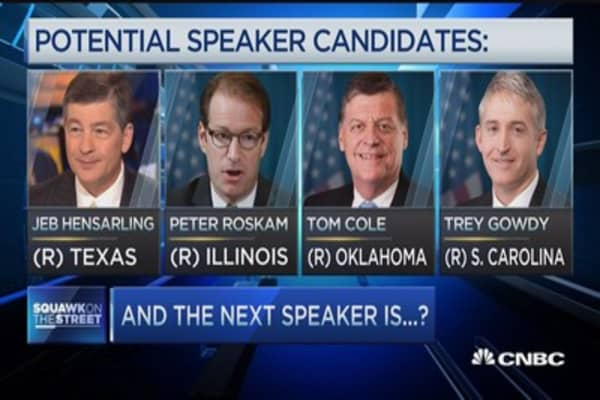 The next speaker?