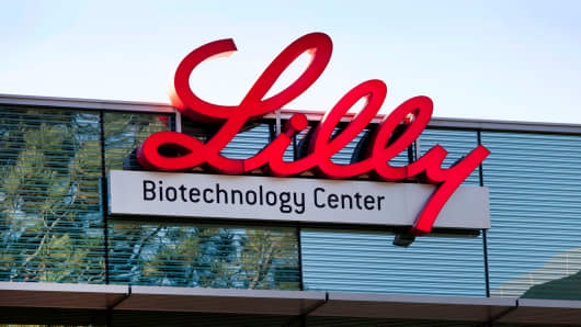 Eli Lilly's office in La Jolla, California.