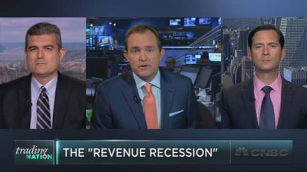 The S&P's 'revenue recession'