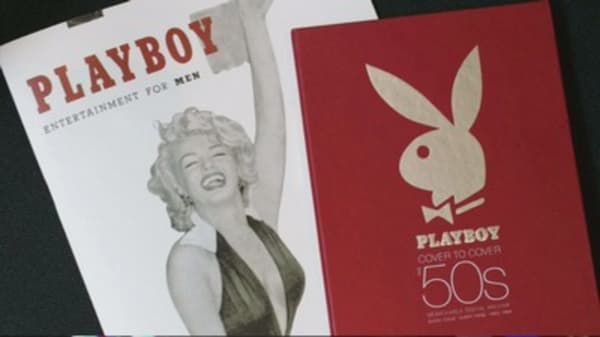 Playboy is covering up
