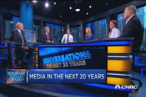 TV 20 years from now... still all about content: Media CEOs