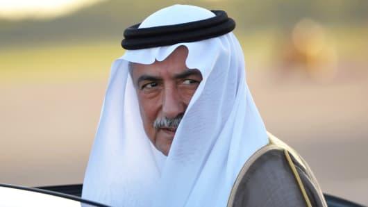 Finance Minister of Saudi Arabia Ibrahim bin Abdulaziz Al-Assaf