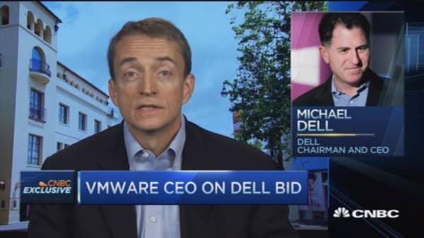 VMWare's 'huge opportunity' on EMC-Dell deal