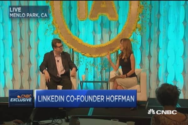 LinkedIn co-founder: AI is a great opporutnity