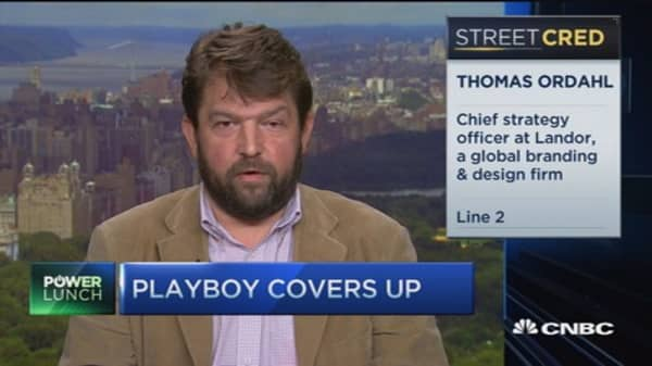 Playboy unveils its latest piece rebranding