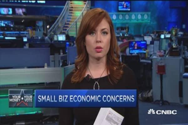 Big small biz election concerns